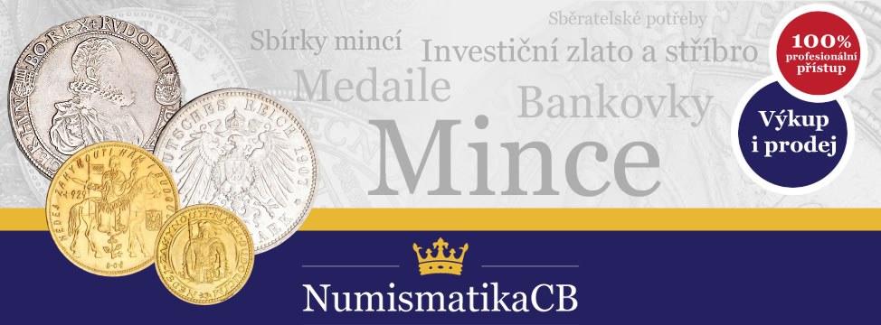 a0a06f3c6 Numismatika, výkup zlata, České Budějovice